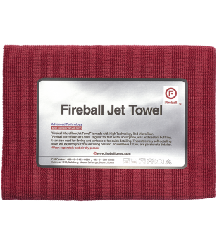 Fireball Jet Towel Red