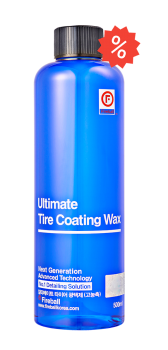 Ultimate Tire Coating Wax Blue / Red