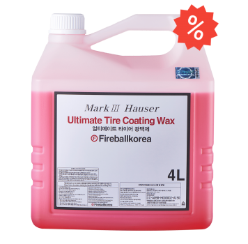 Ultimate Tire Coating Wax Red 4L