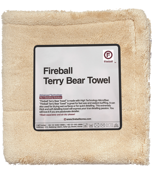Fireball Terry Bear Towel 40x40