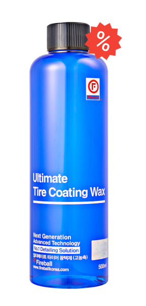 Ultimate Tire Coating Wax Blue 500ml